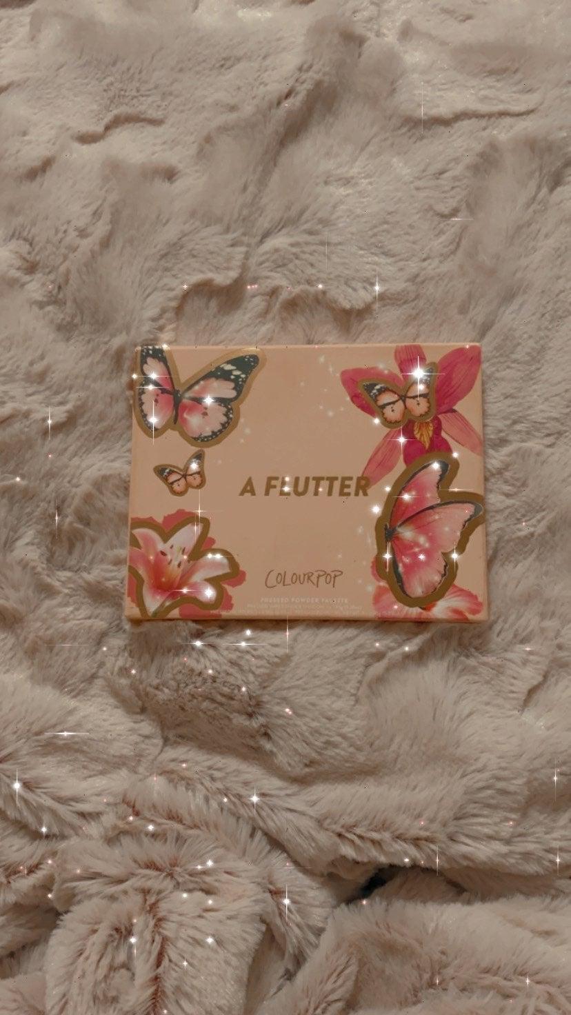 ColourPop Cosmetics A Flutter Palette