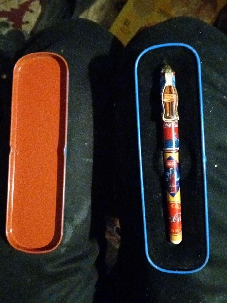 1996 collectable coca cola pen