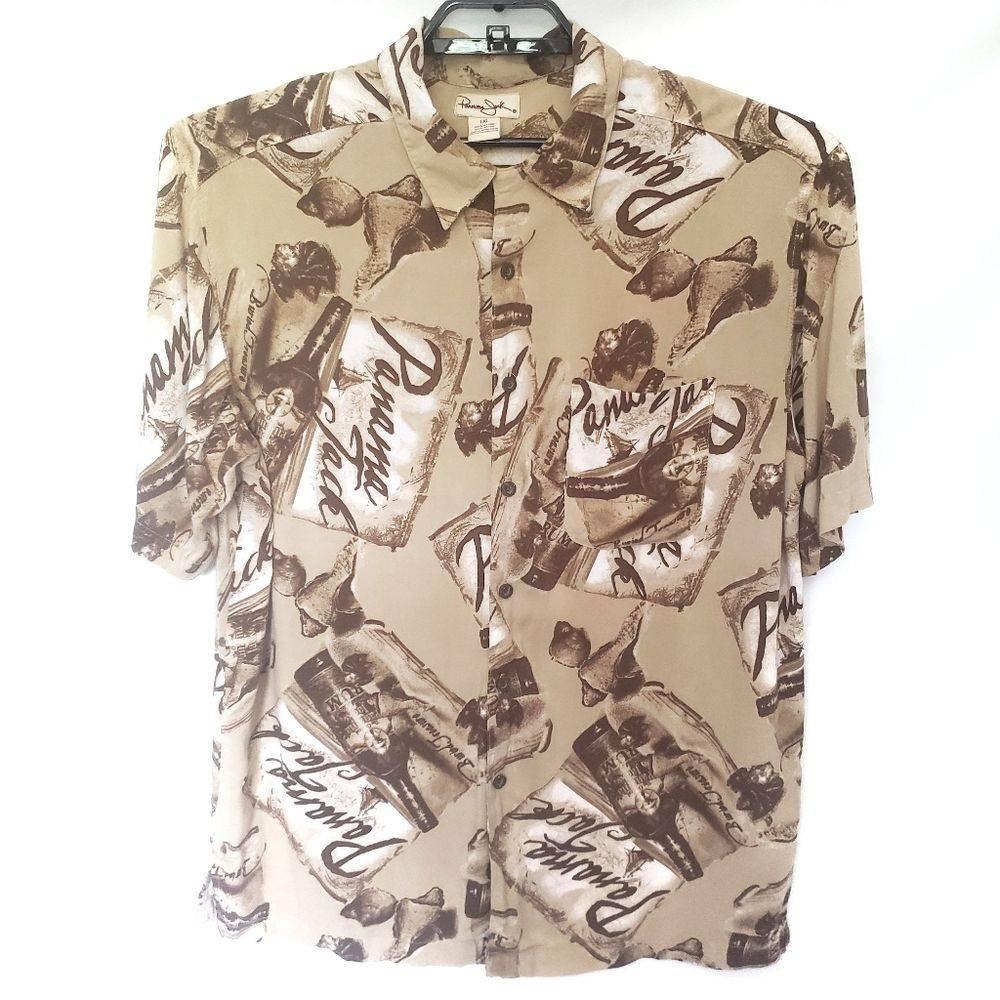 Panama Jack Vintage Button-Up Shirt - L