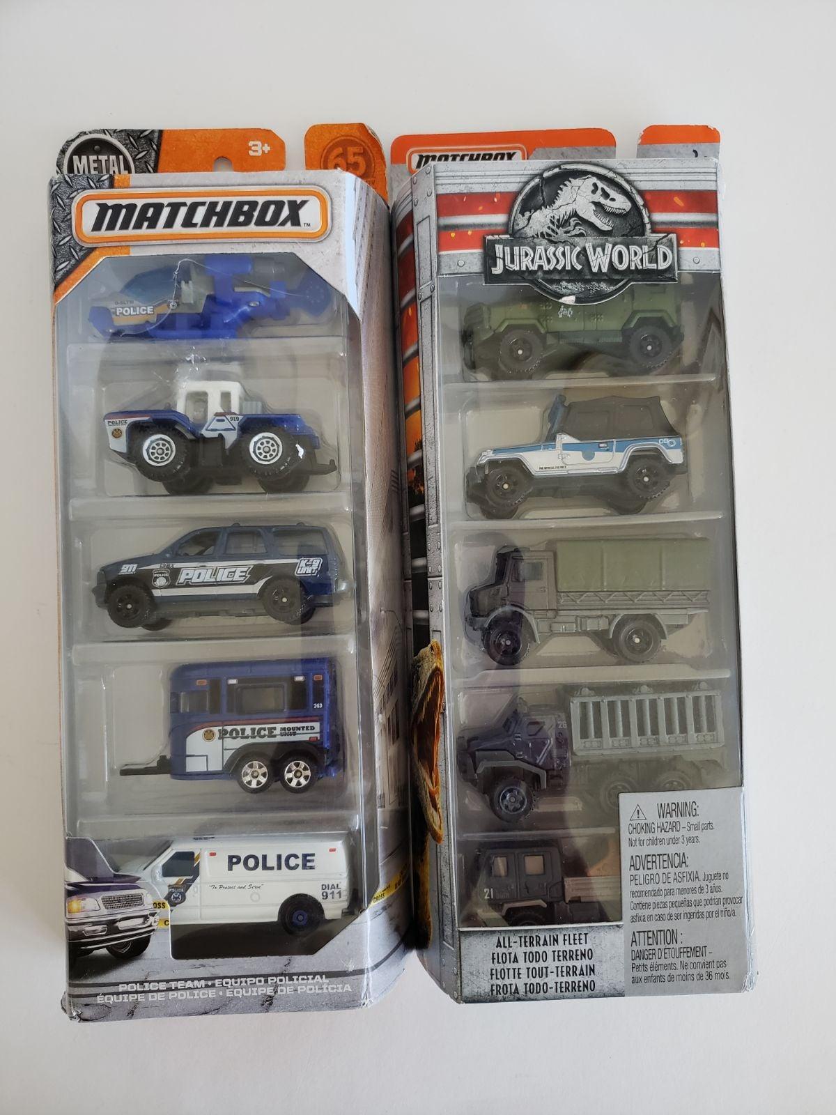 Matchbox cars lot