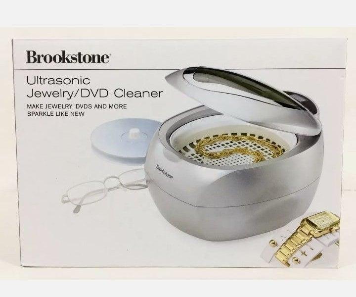 Brookstone Ultrasonic Jewelry Cleaner