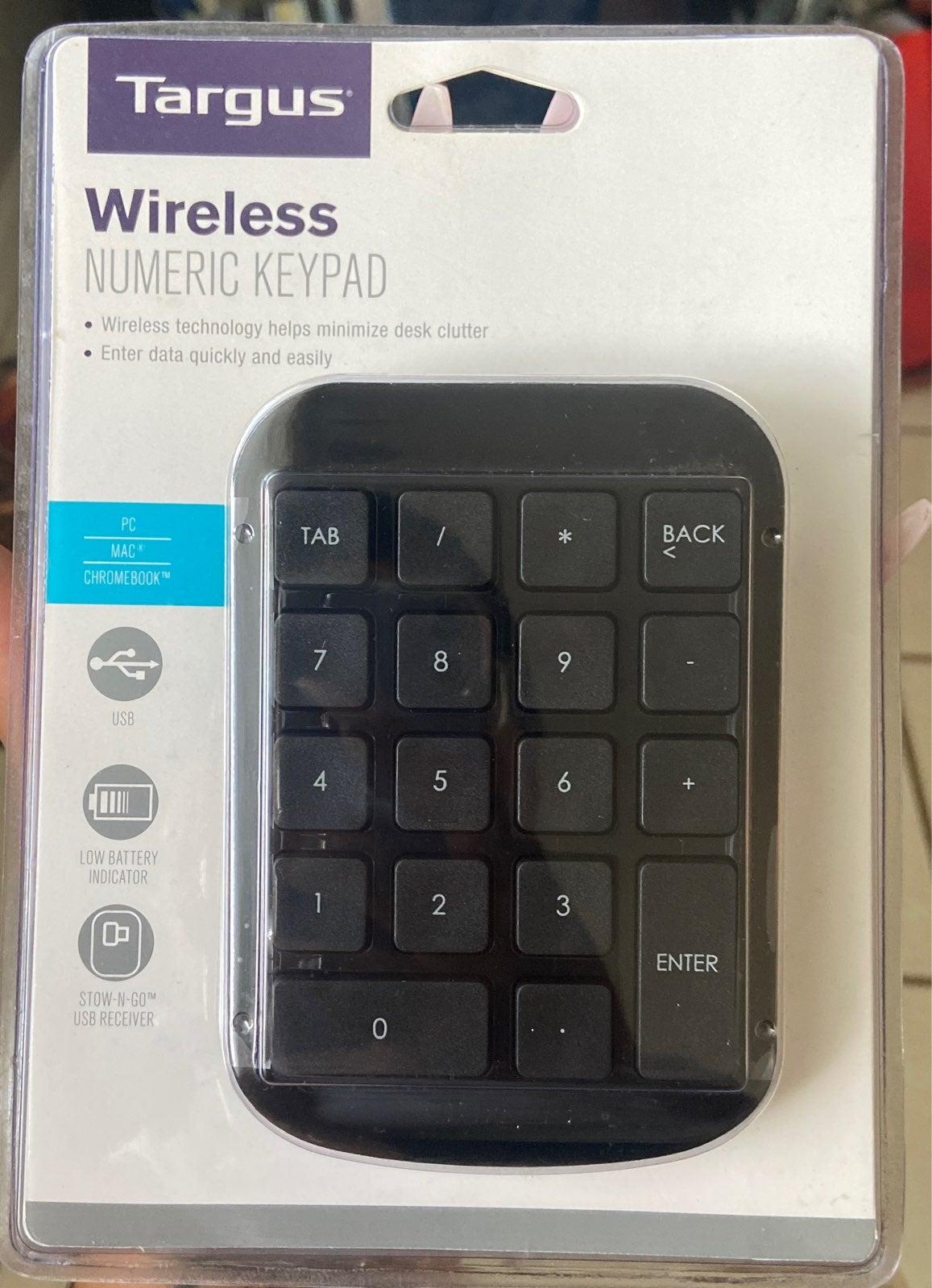Wireless Numeric Keypad