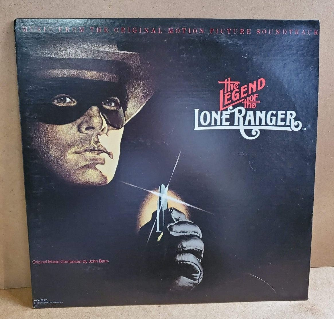 "The Legend of the Lone Ranger 12"" LP"