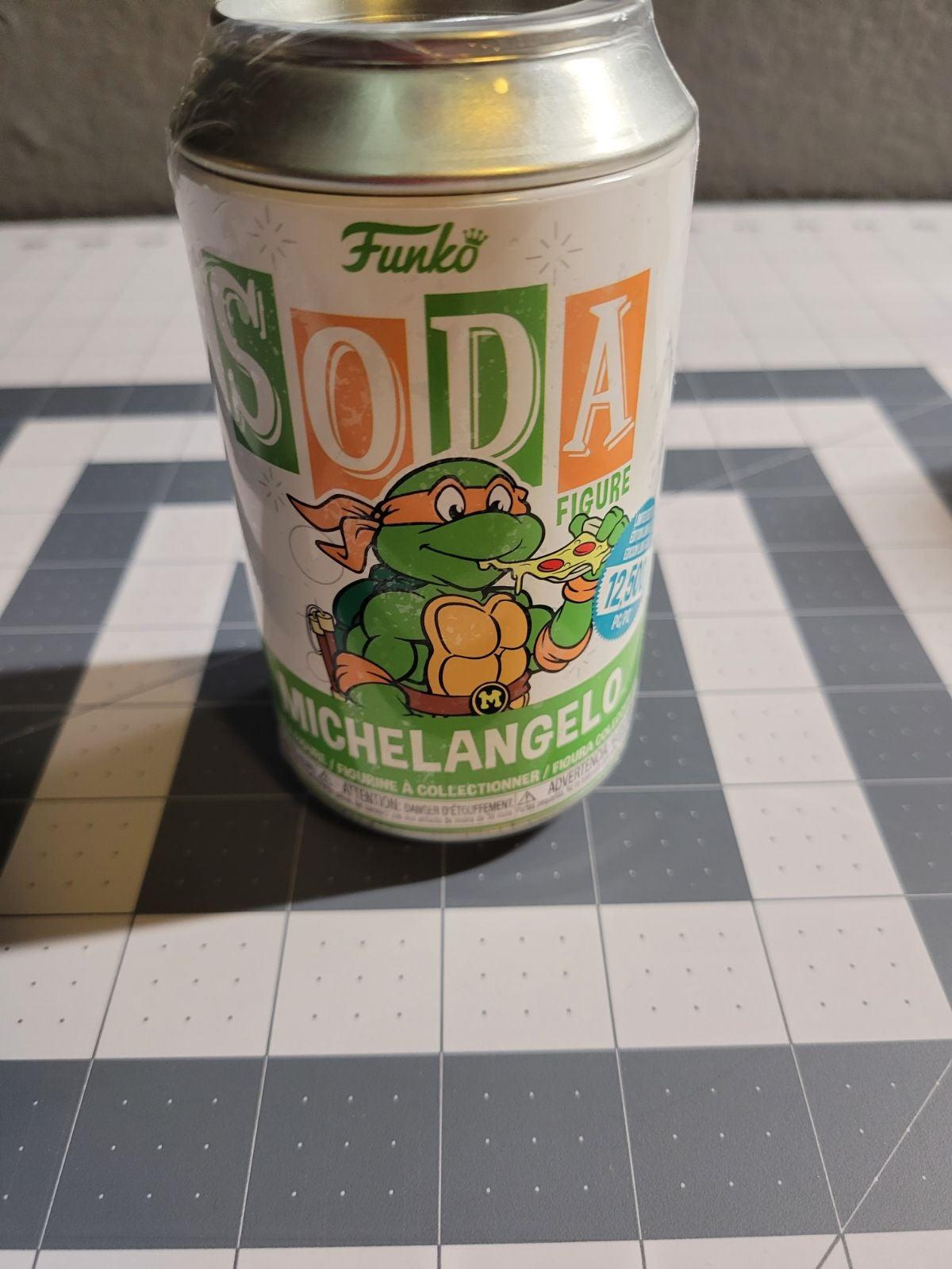 Funko Soda Sealed Michelangelo TMNT