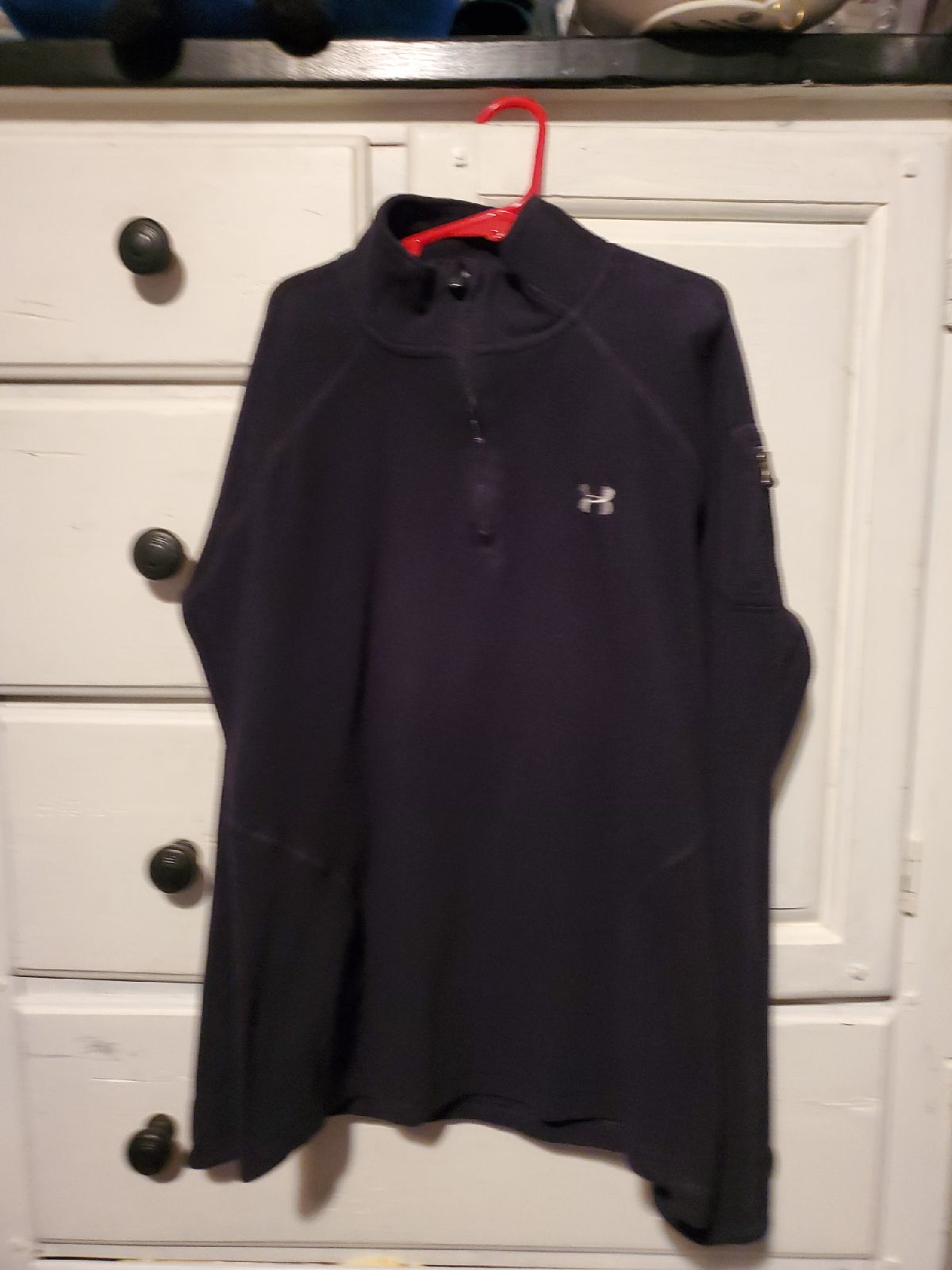 Under Armour pull over fleece M