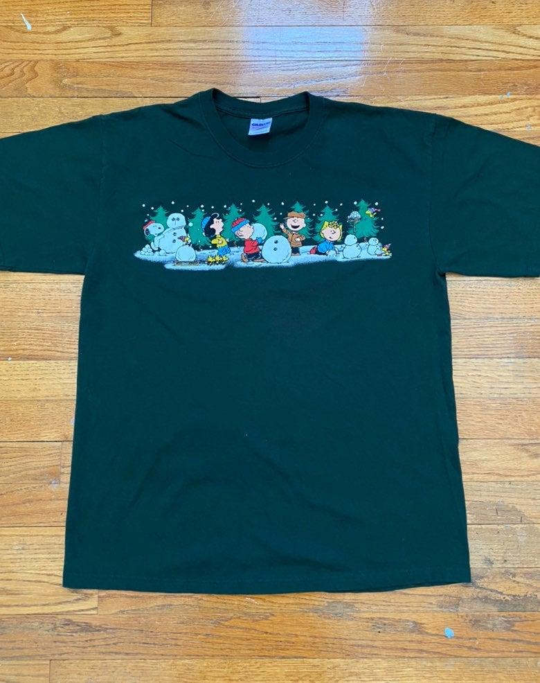 Vintage Christmas Peanuts T-Shirt