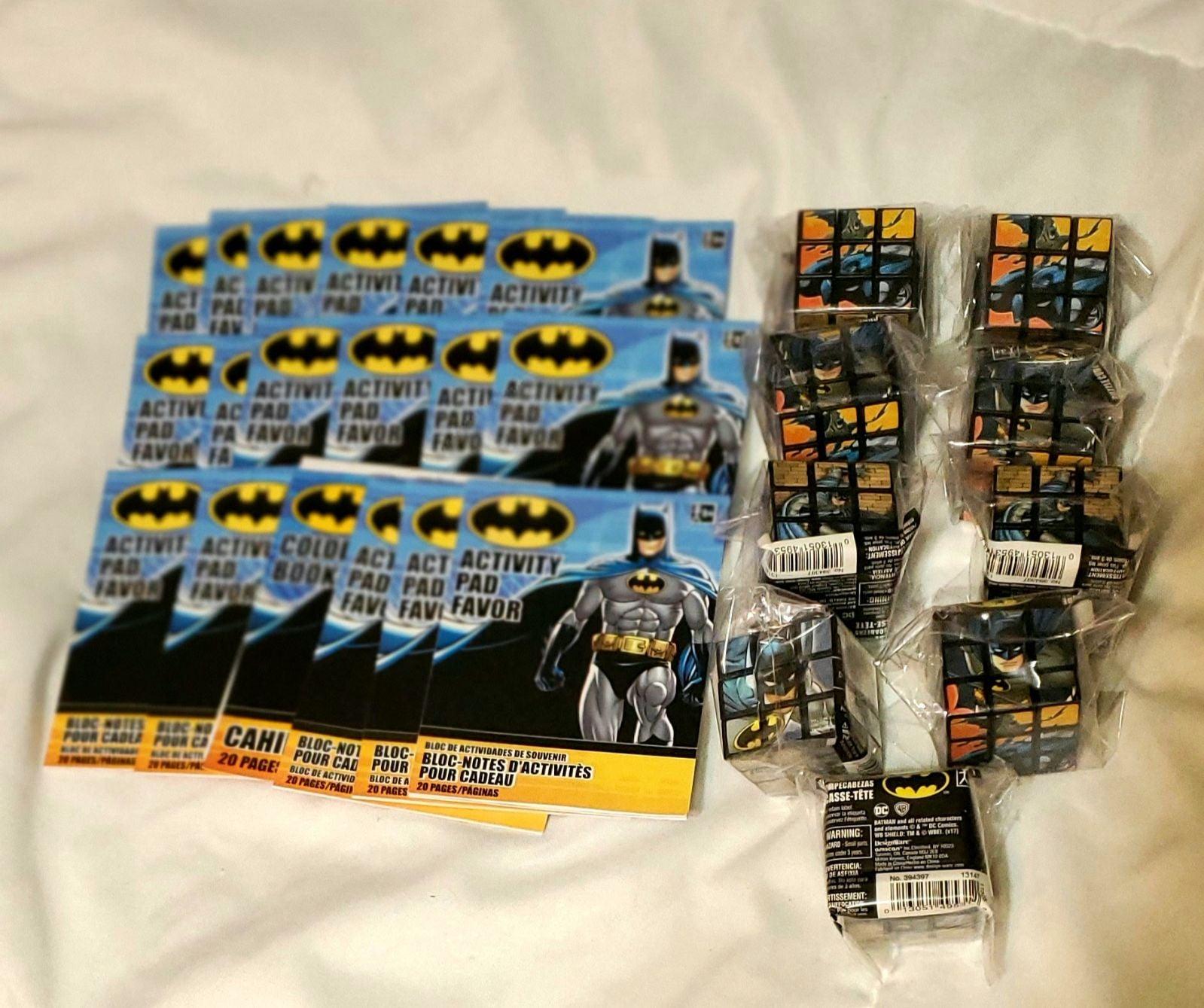 Batman mini activity books & puzzles