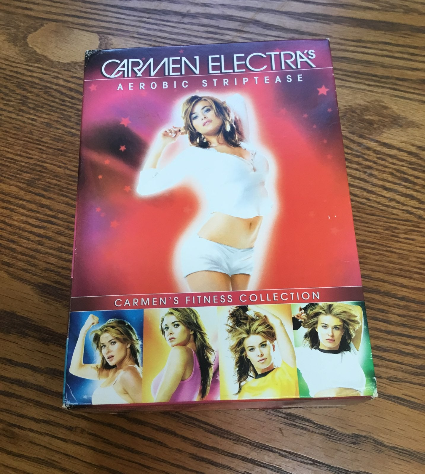 Carmen Electra fitness DVD Set