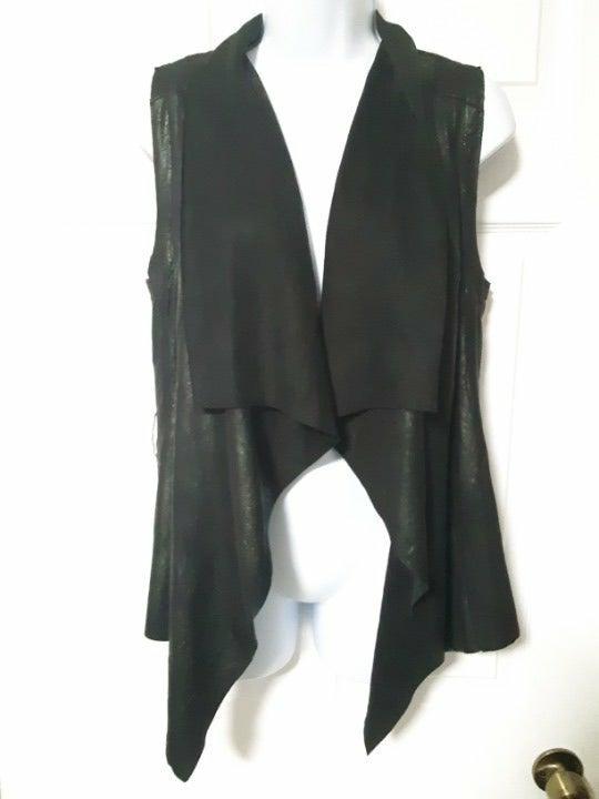 Bagatelle Women's Drape Vest Jacket