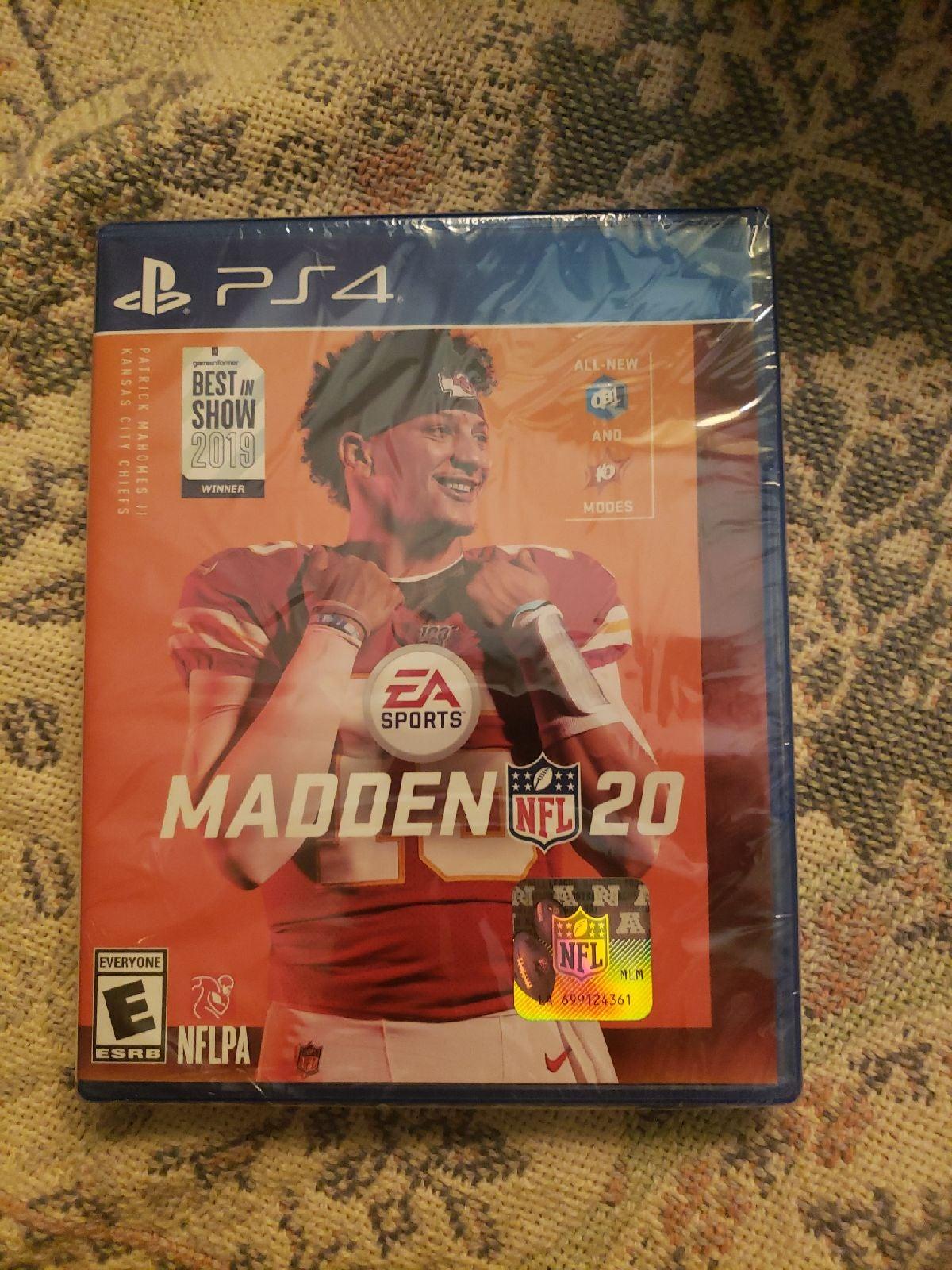 Madden 20 New Sealed PS4 playstation 4