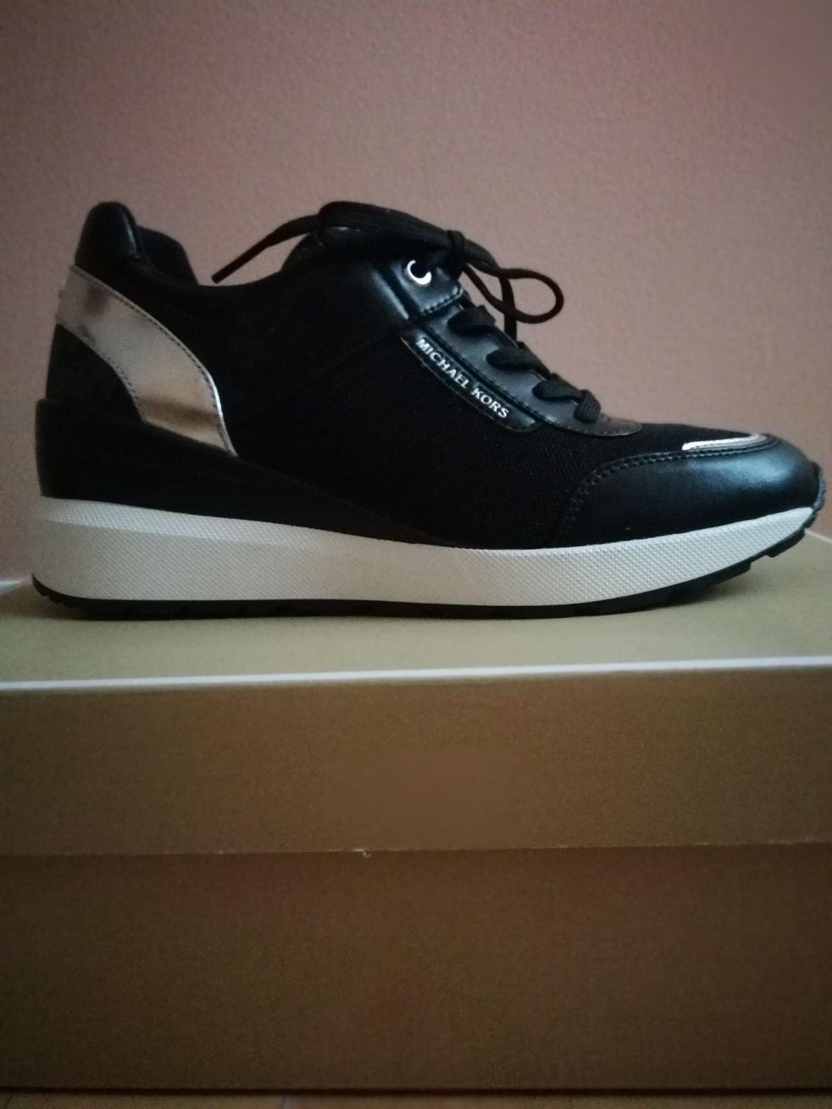 Michael Kors shoes wedge sneakers 7.5 bl