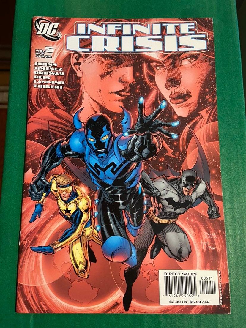 Infinite Crisis #5/1st Blue Beetle/Hot