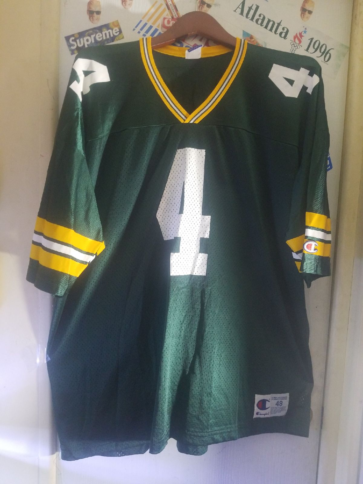 Vintage Champion Packers Farve jersey