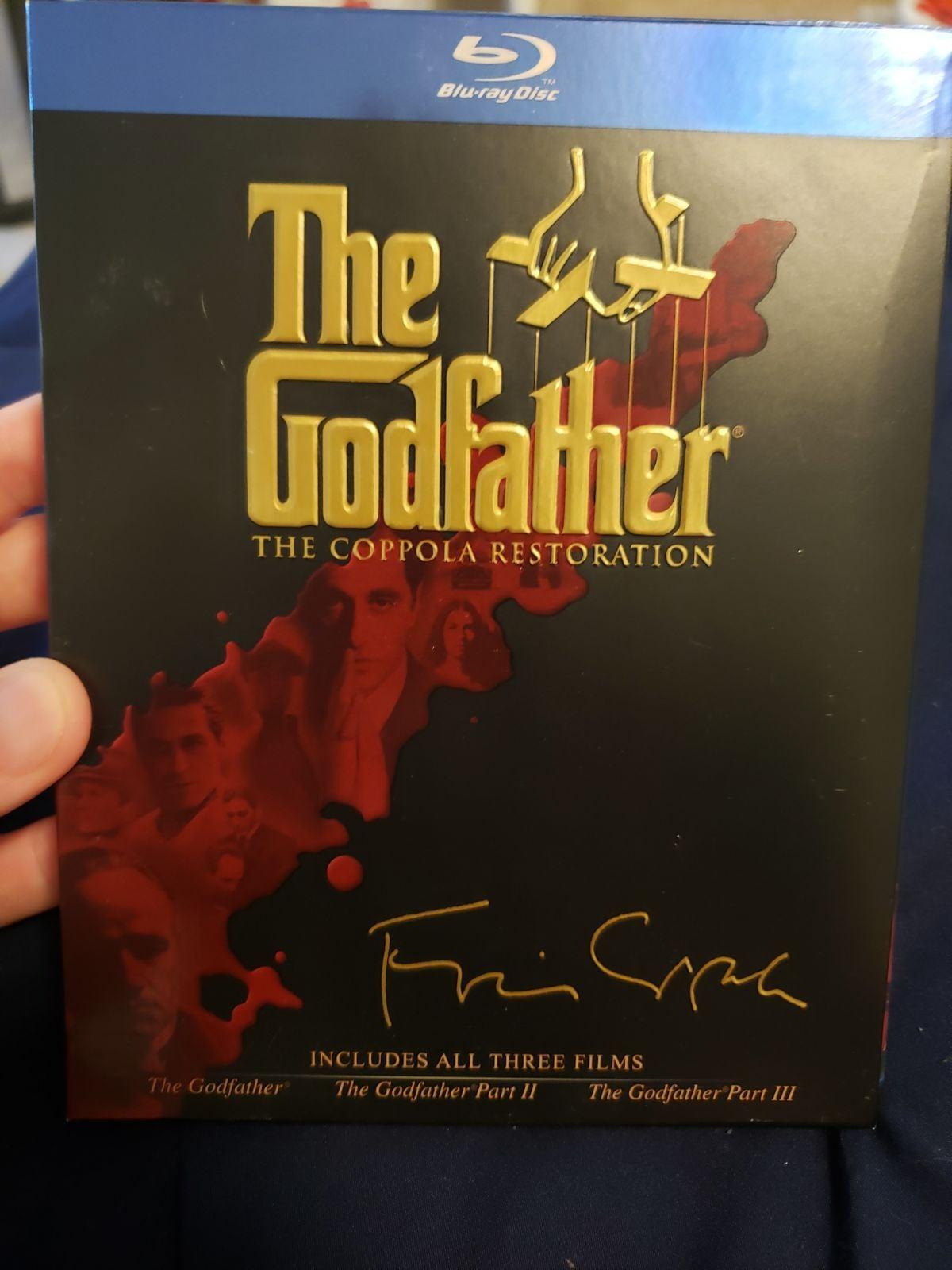 Godfather Trilogy Blu-Ray Box Set