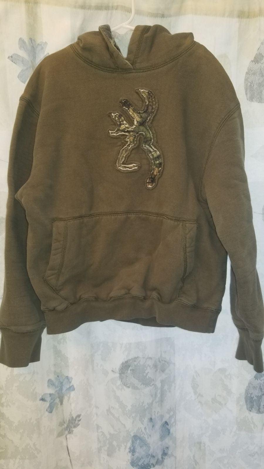 Boys/kids Browning camo hoodie