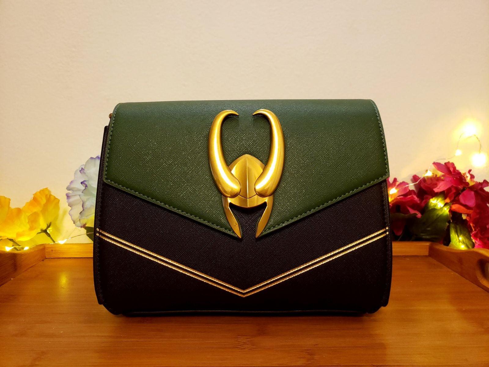 Loungefly Marvel Loki Crossbody Bag