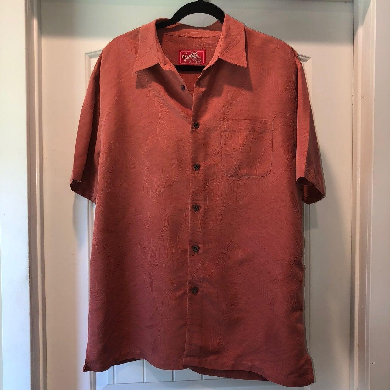 Men's Hawaiian Button Up Shirt