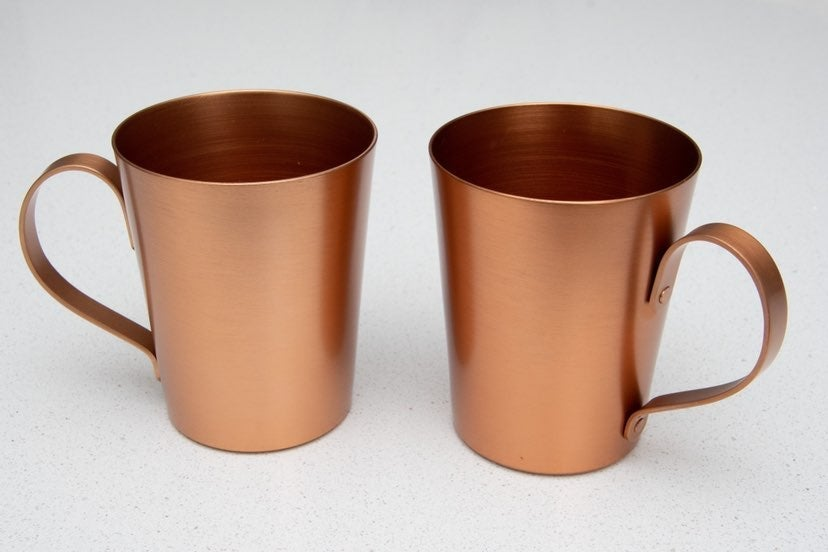 Copper Moscow Mule Mugs (x2)
