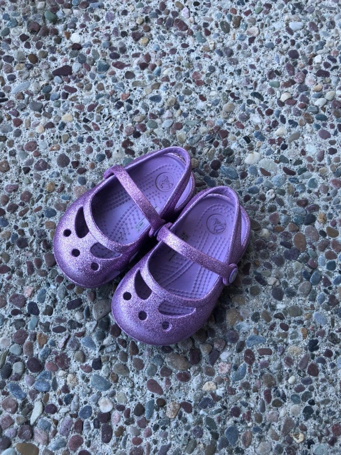 Kids Toddler Crocs size 4