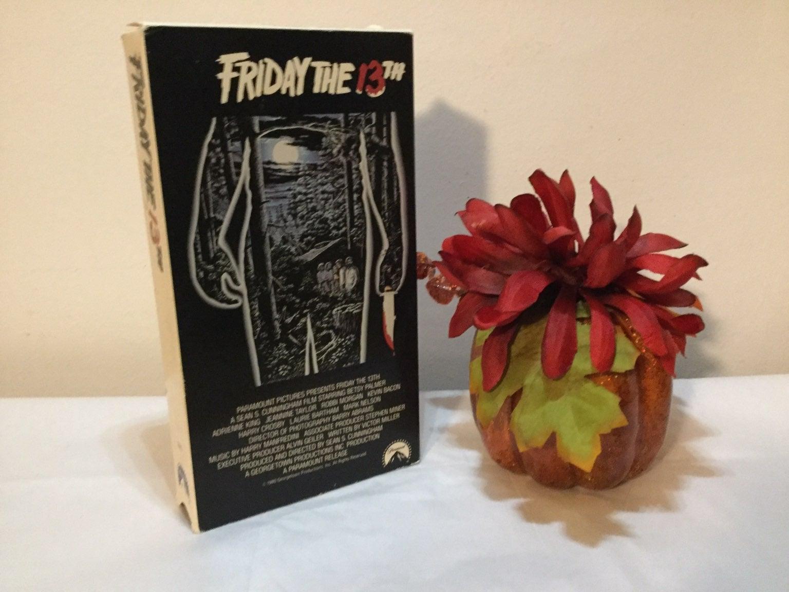 VHS HORROR MOVIE