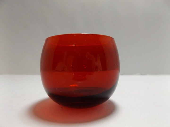 Royal Ruby Red Small Juice Glass