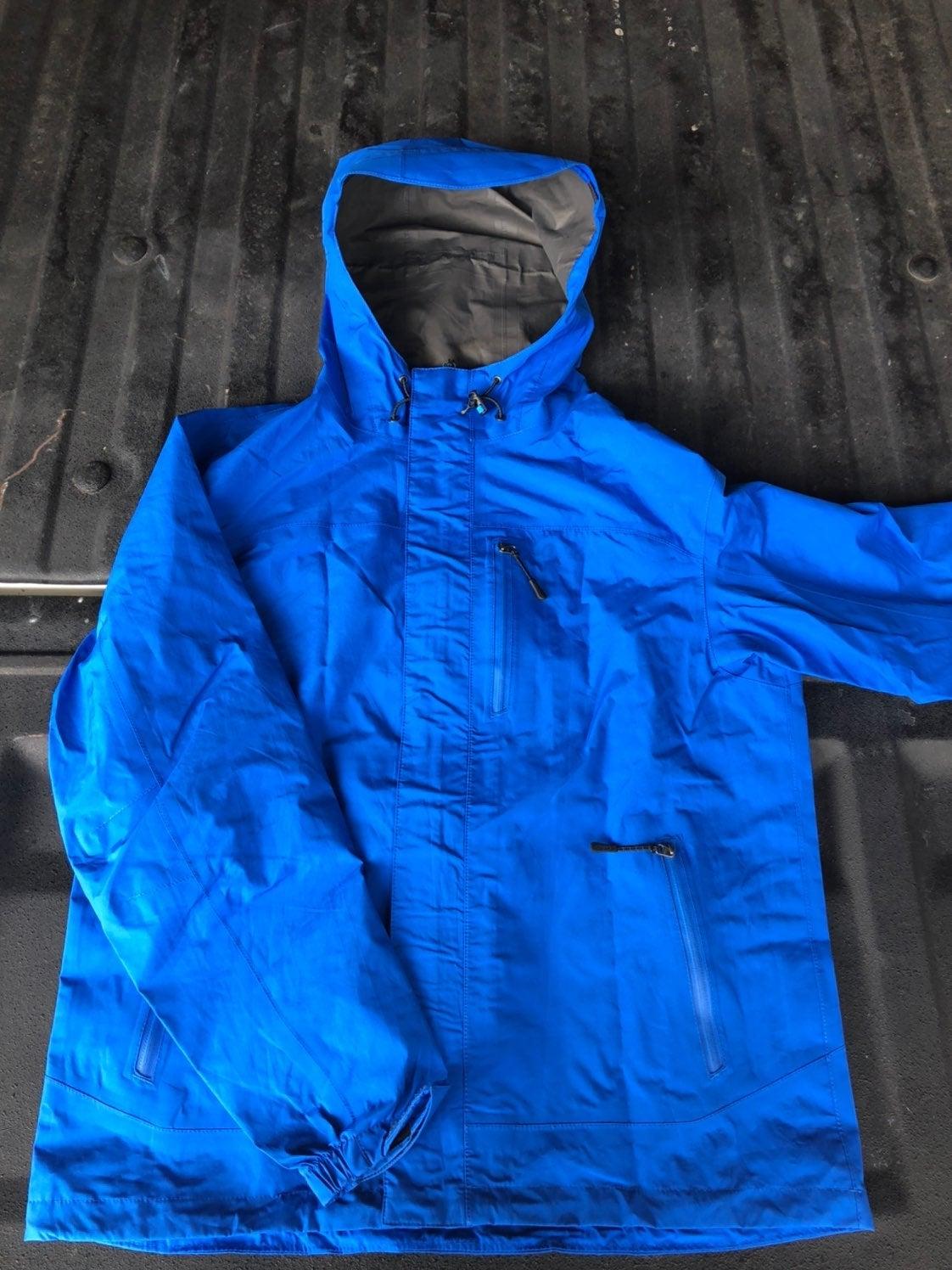 Cabelas goretex rain jacket mens