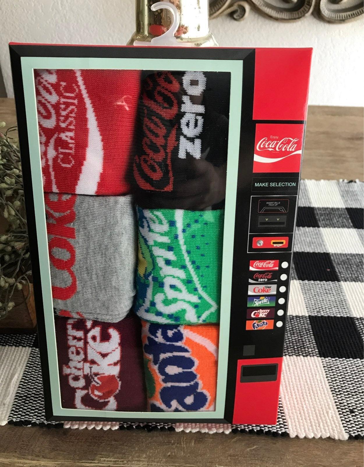 Coca Cola Themed Socks