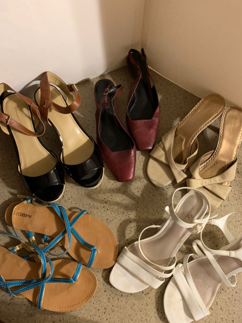 Dressy sandal set