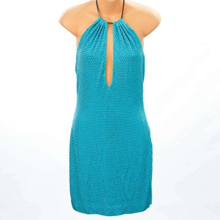 Bebe Turquoise Dress XS