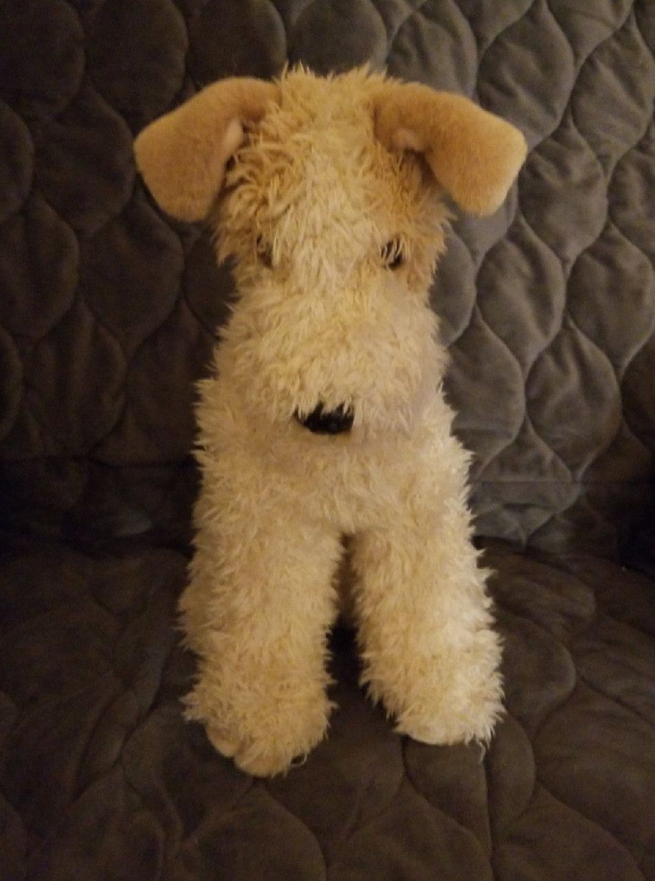 Plush Terrier Dog Stuffed Animal