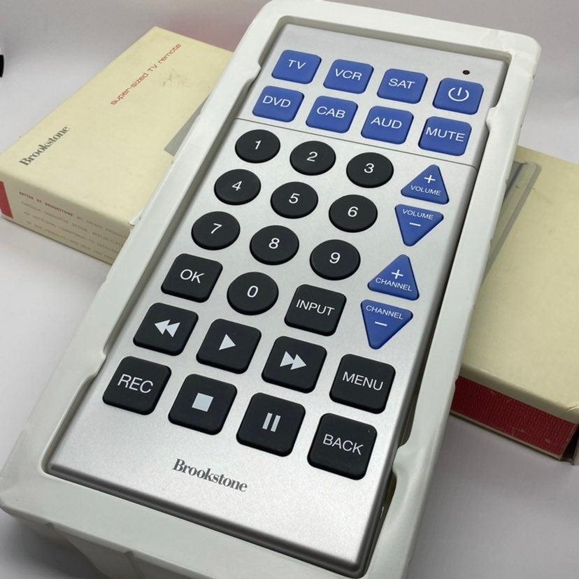 Brookstone Super-Sized Remote Controller