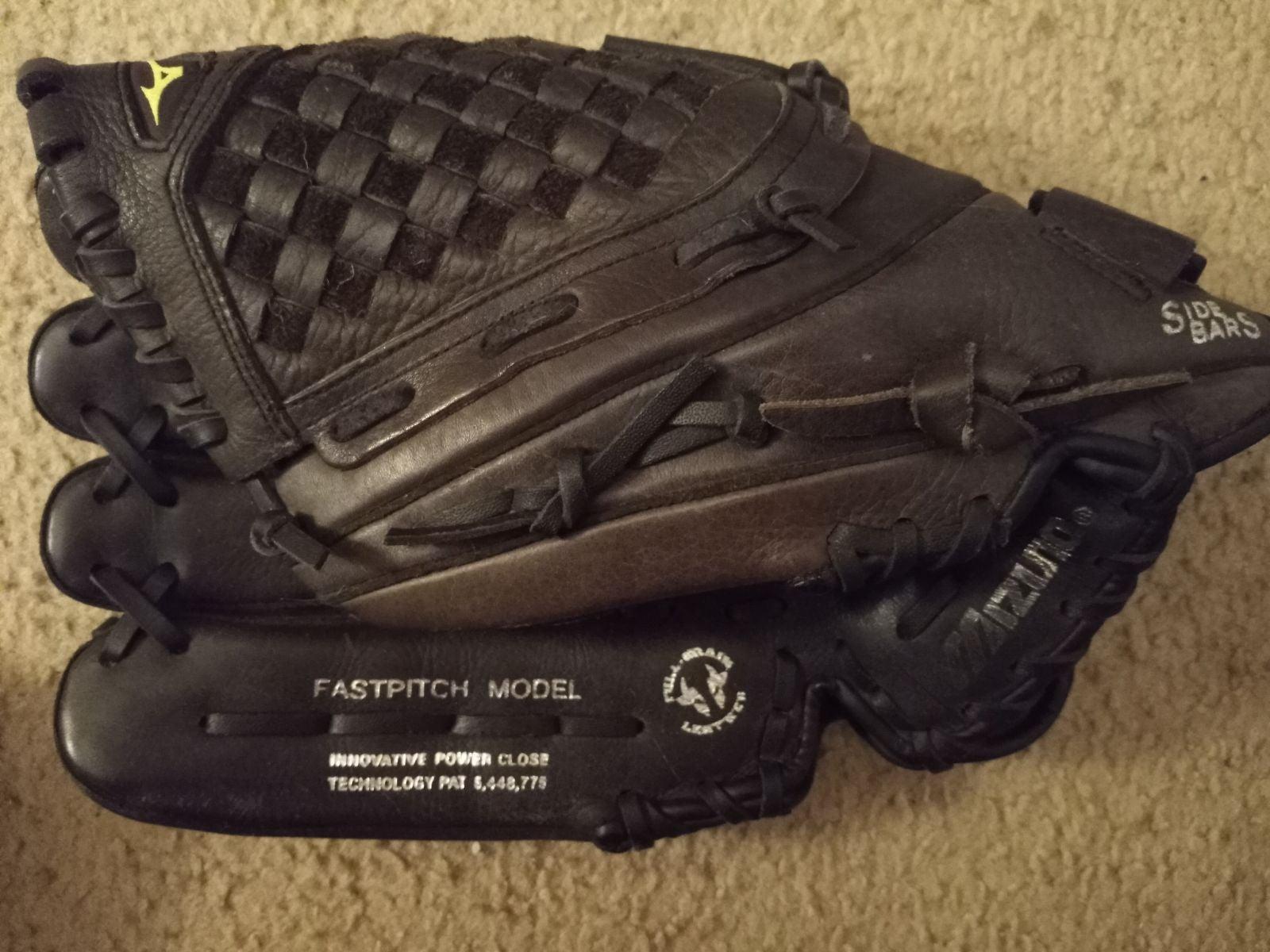 Mizuno GPL 1257D Baseball Glove  LHT Lef
