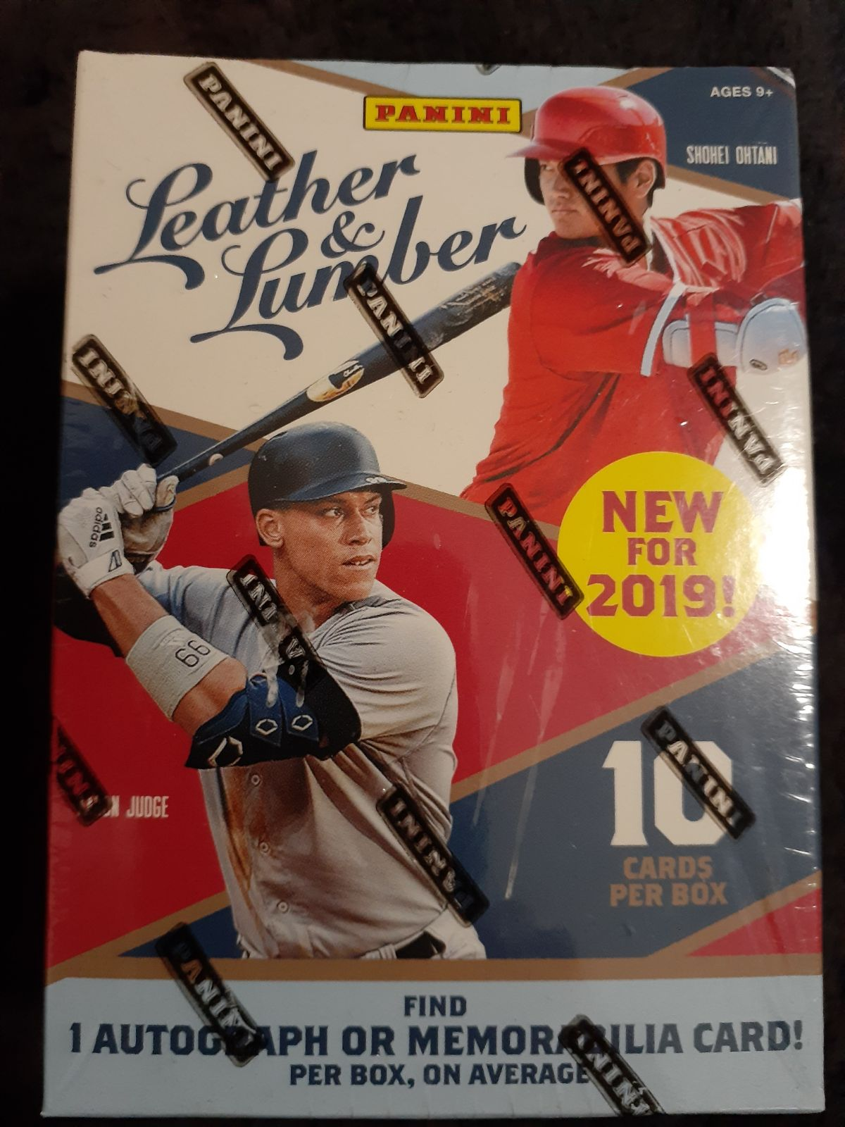 2019 MLB Leather and Lumber Blaster Box