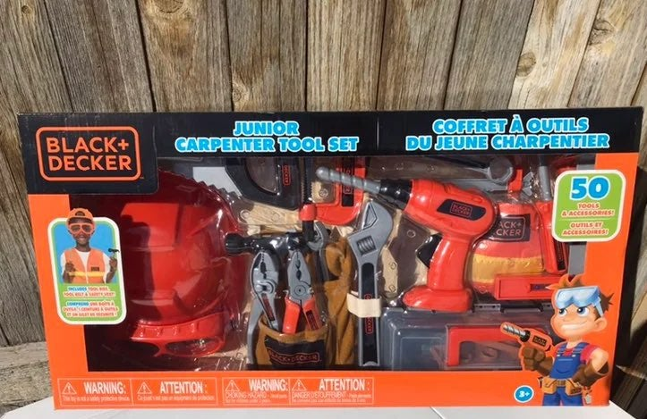 Black and decker junior carpenter tool s
