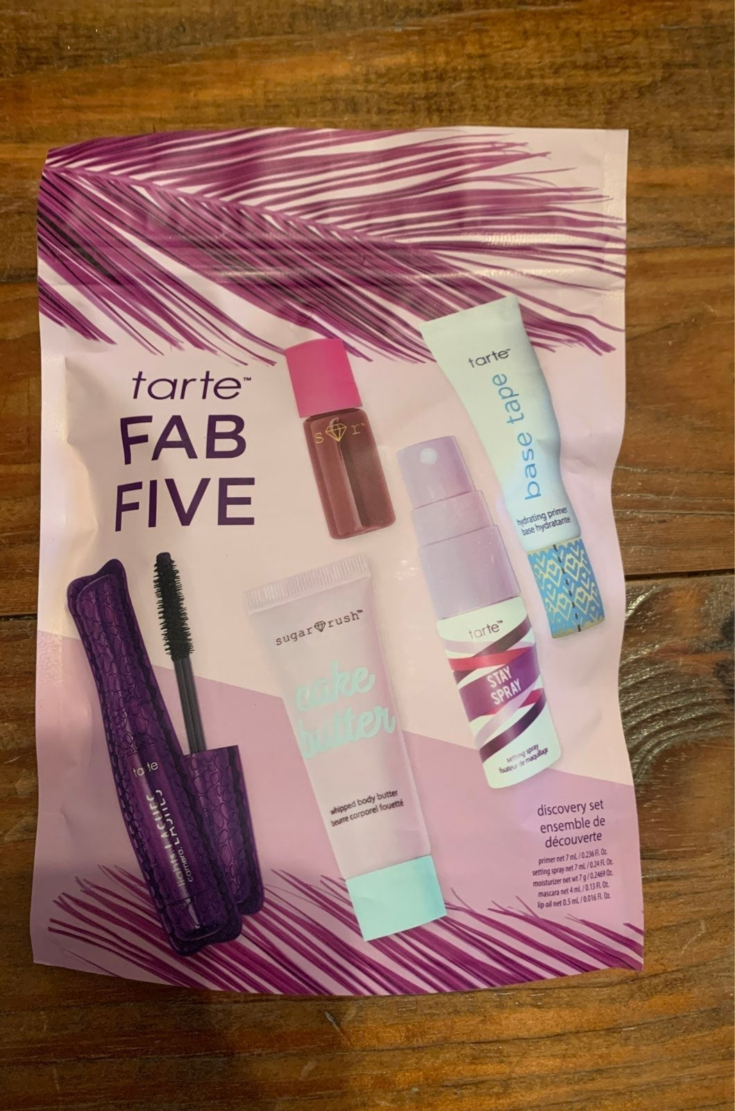 Bundle Tarte Fab Five