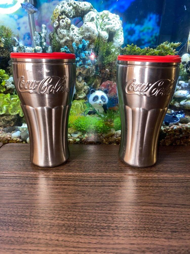 Coca Cola Reusable Metal Aluminum Drinki
