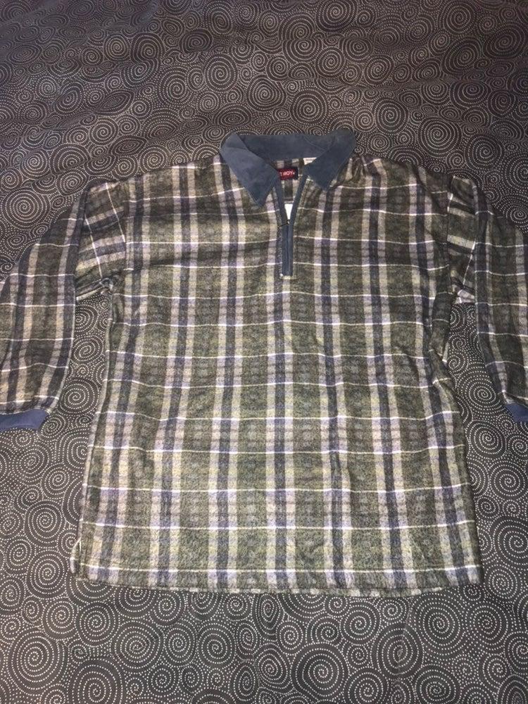 Vintage Bugle Boy Fleece Jacket