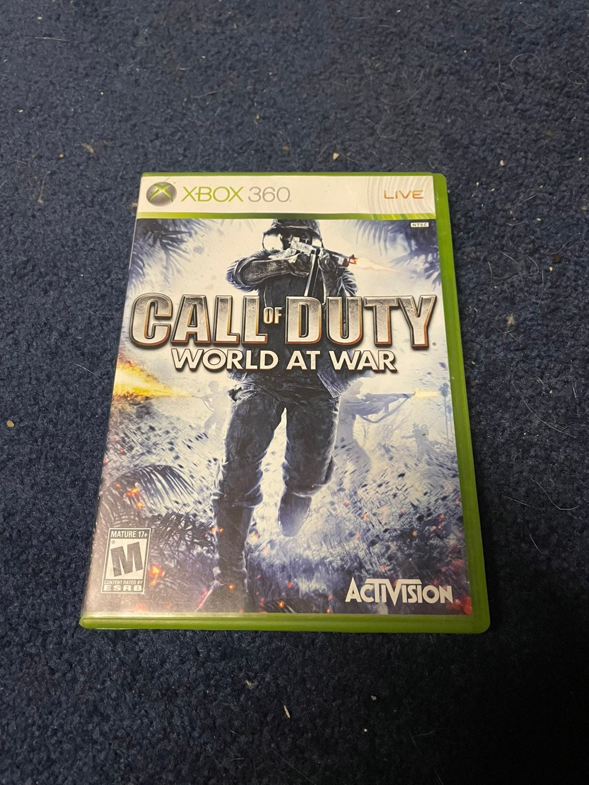 Call of Duty: World at War on Xbox 360