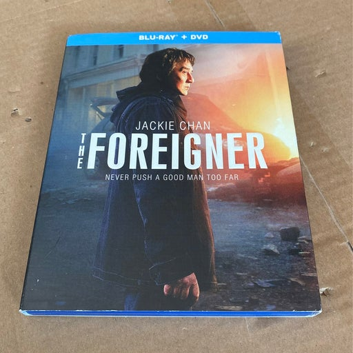 The foreigner bluray dvd