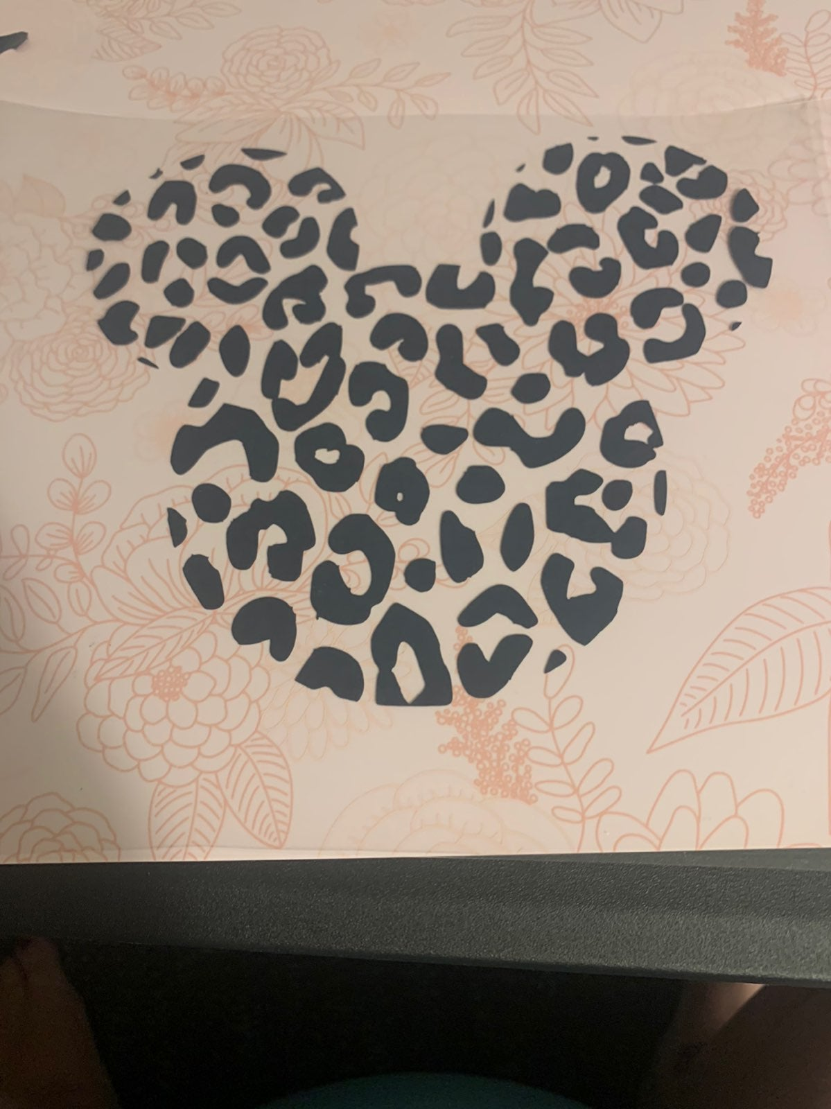 Iron on leopard mickey mouse