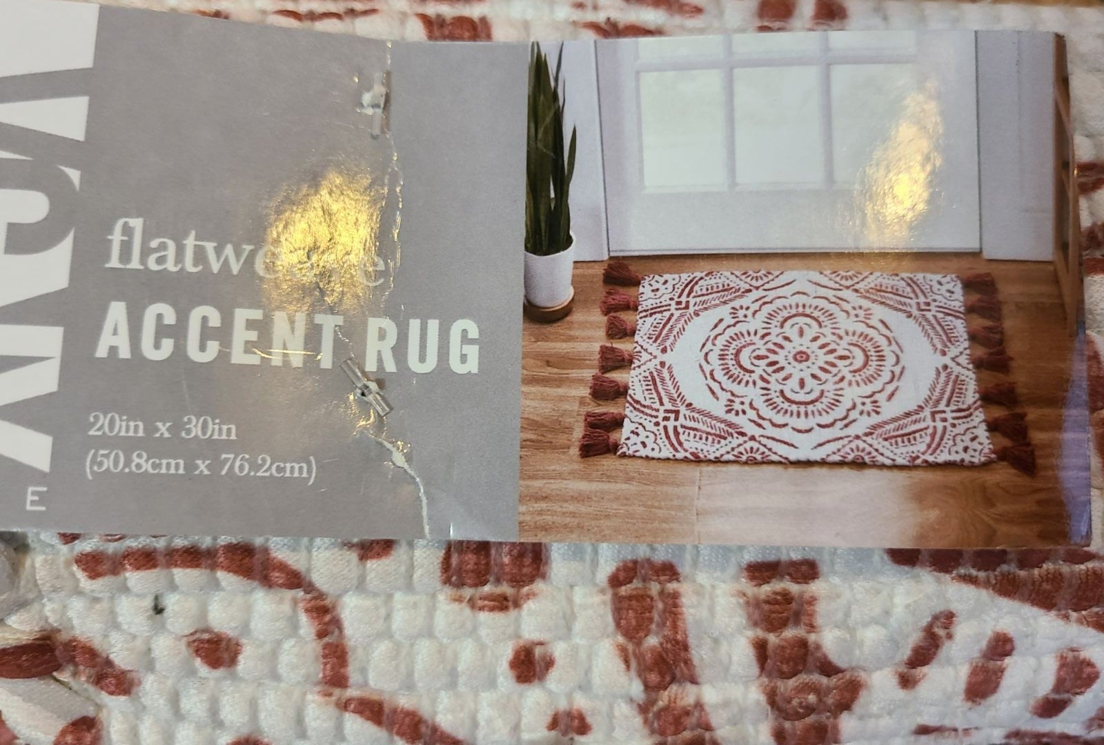 Reserved*brand new* rug