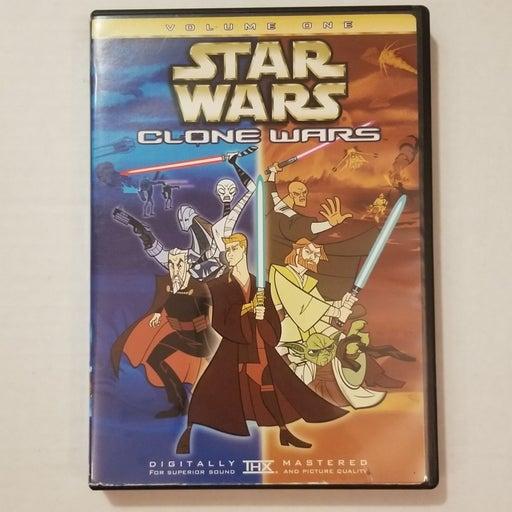 Star Wars Clone Wars Volume 1 DVD