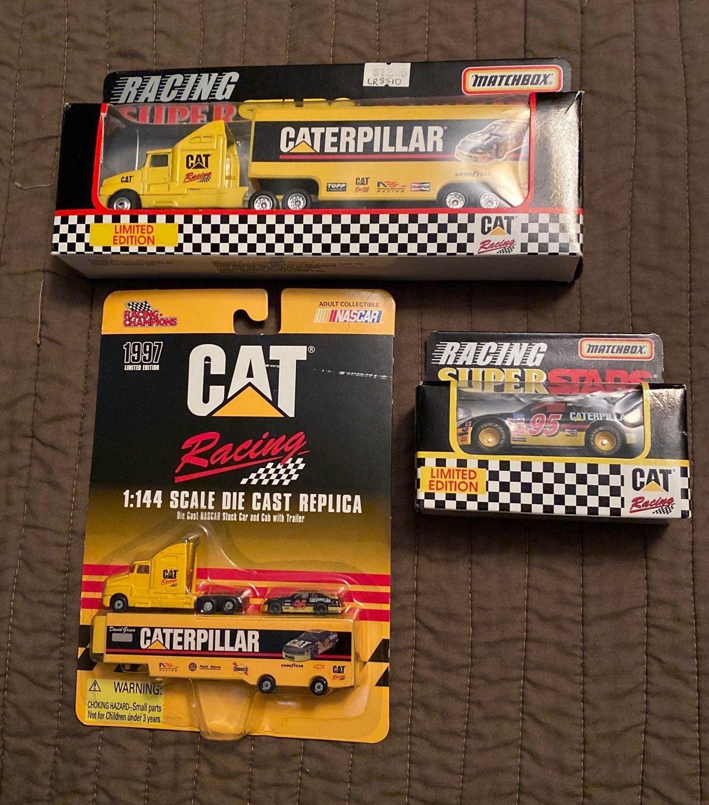 Matchbox and Racing champions CAT Racing