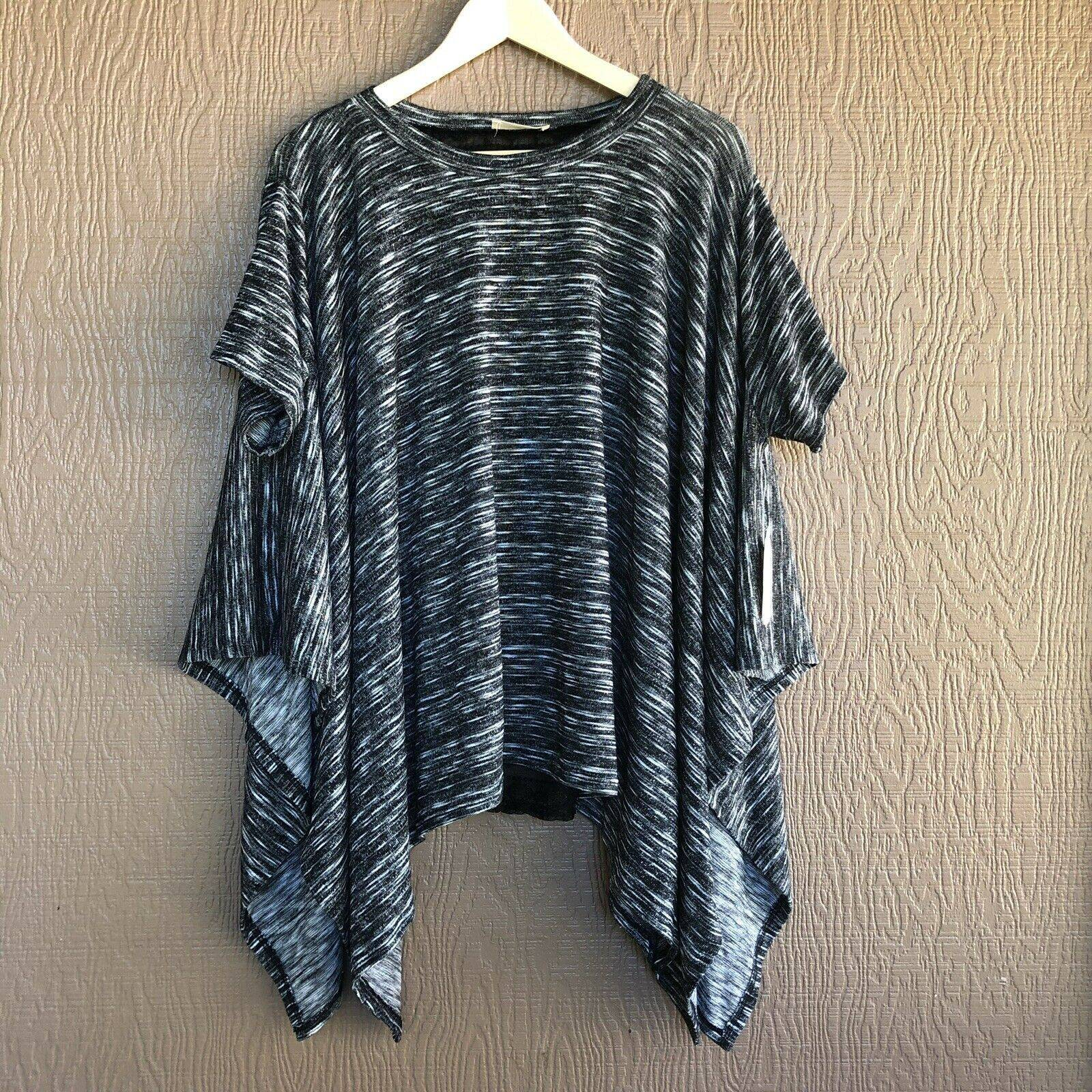 NWT Altar'd State Lace Back Poncho Top
