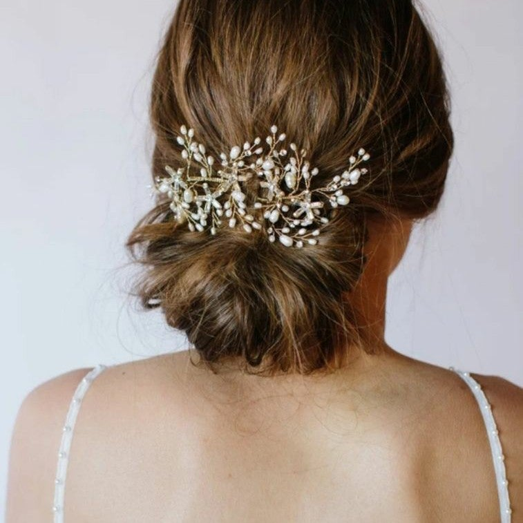 Untamed Petals Perce Hair Clips