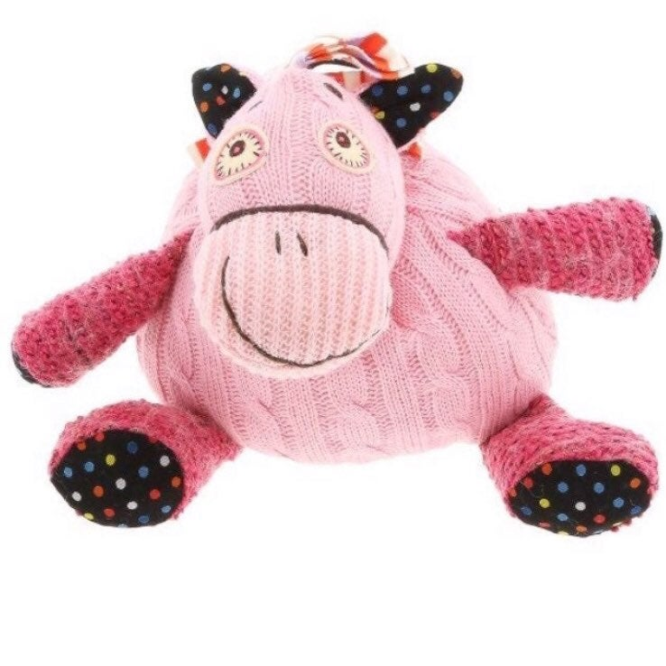 Demdaco Nat & Jules Pony Plush Toy NWT