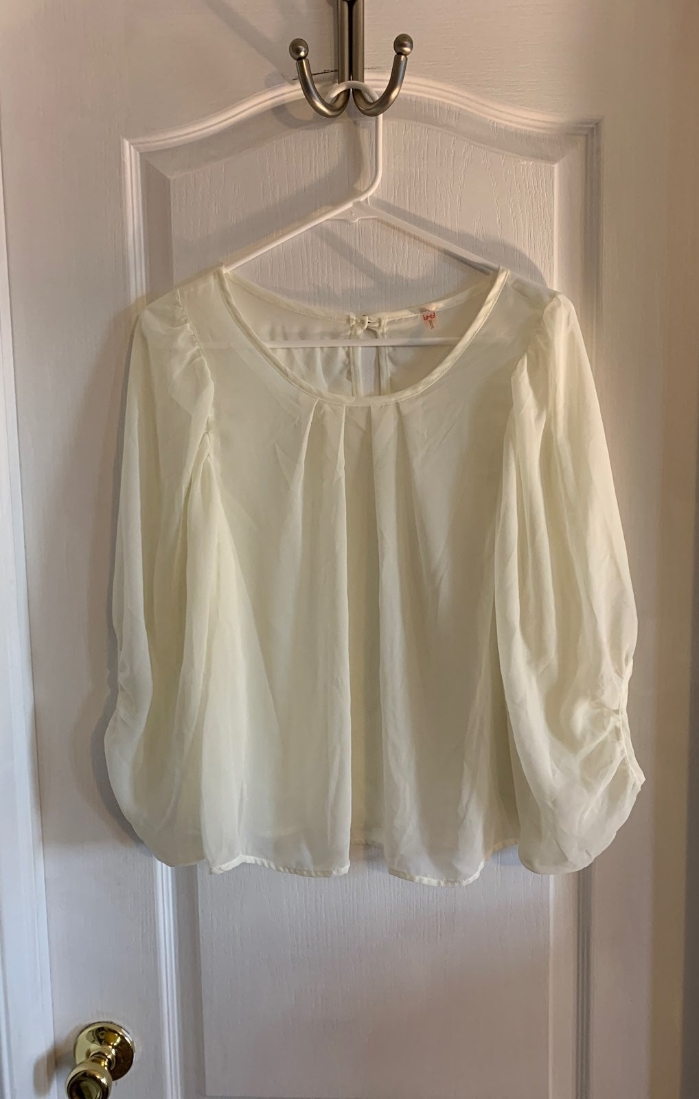 Cocolove sheer blouse.