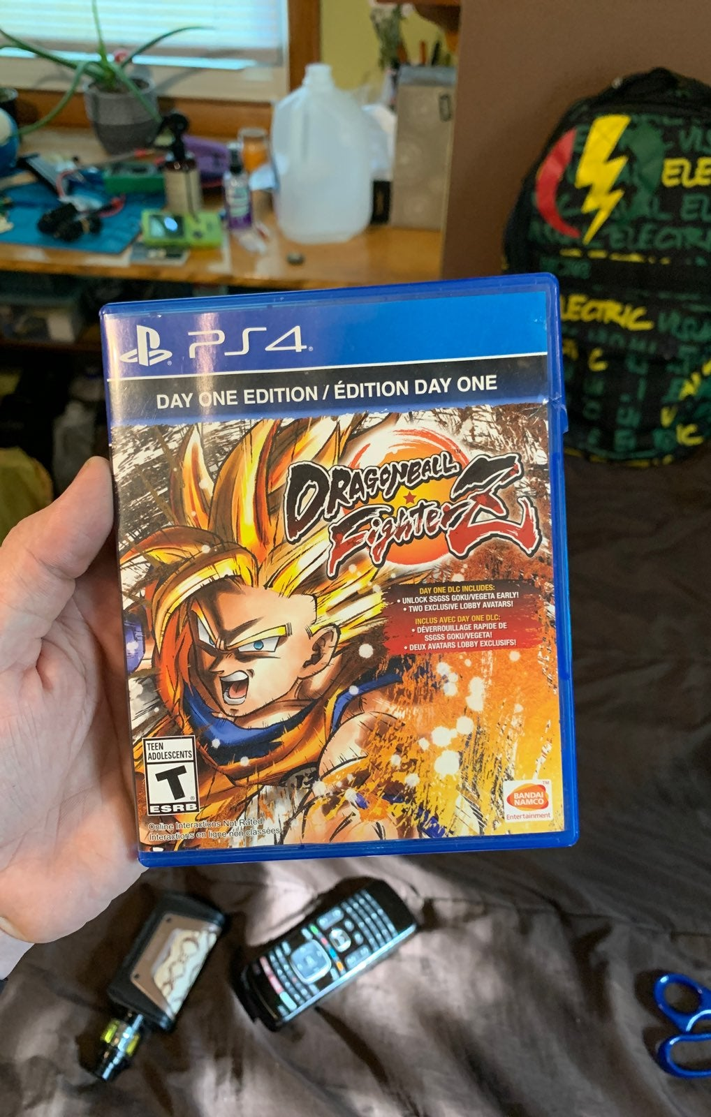 Dragon Ball Z fighterZ case