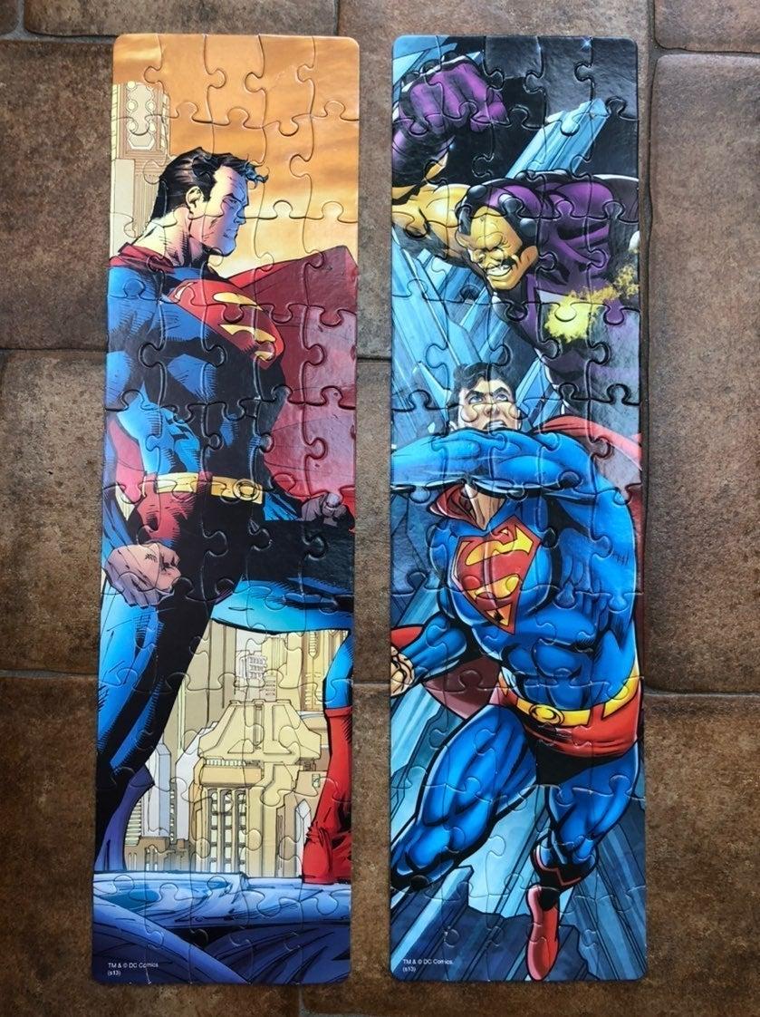 Superhero jigsaw puzzles - 4 puzzles