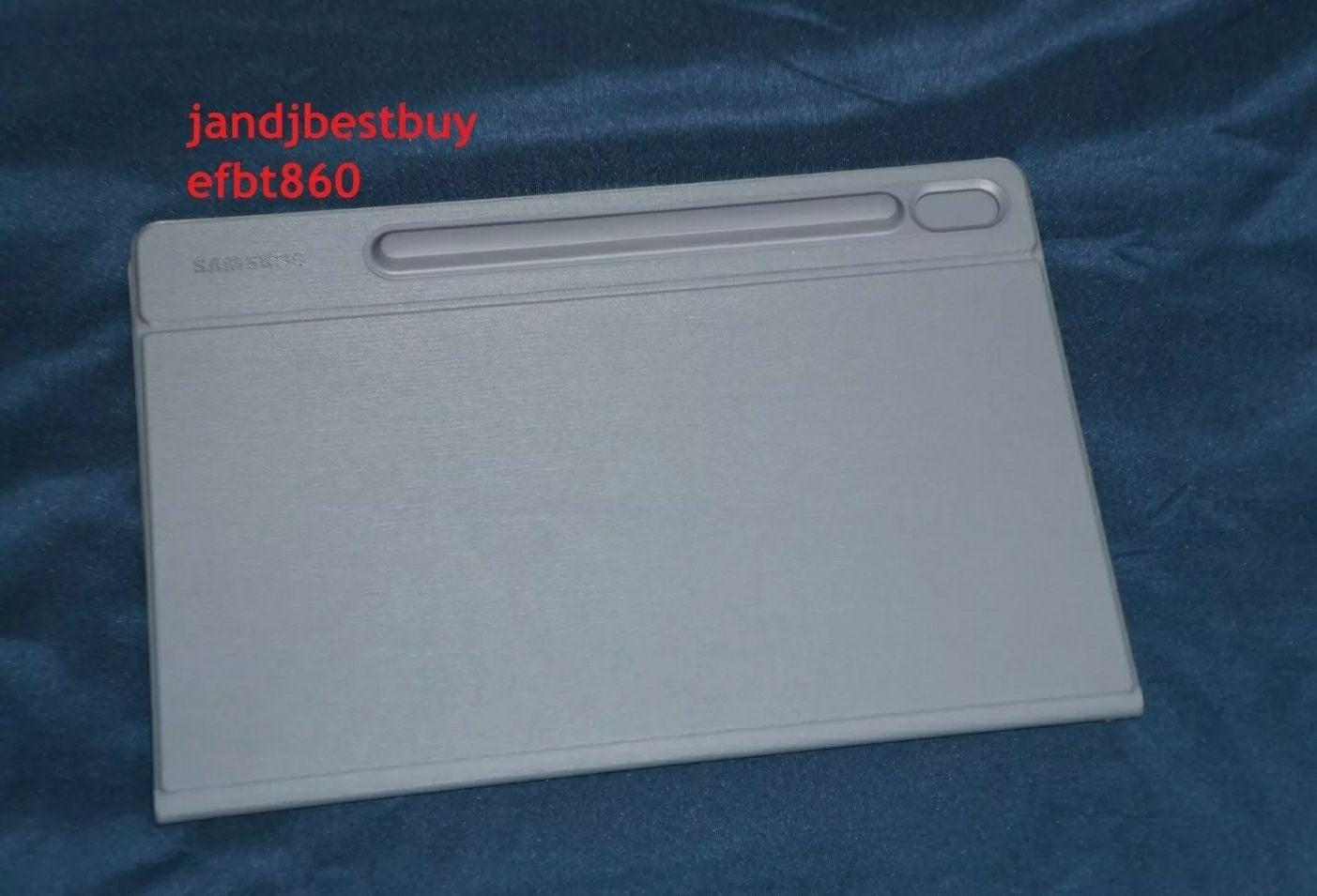 Samsung Galaxy Tab S6 Book Cover Gray